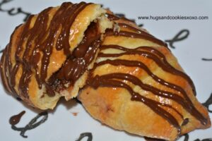 chocolate crescents stuffed chocolate