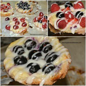 Cream Cheese Fruit Pastries