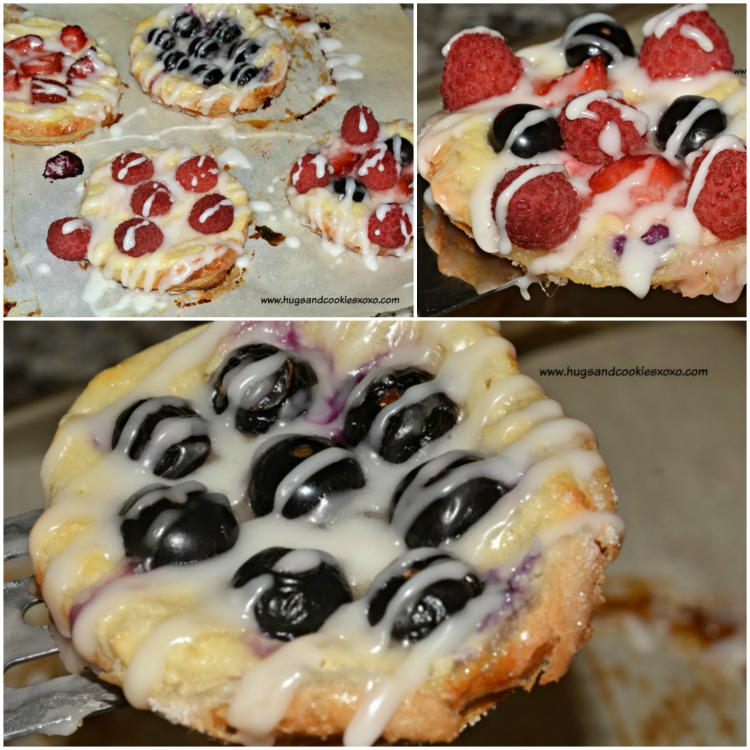 cream cheese fruit pastries