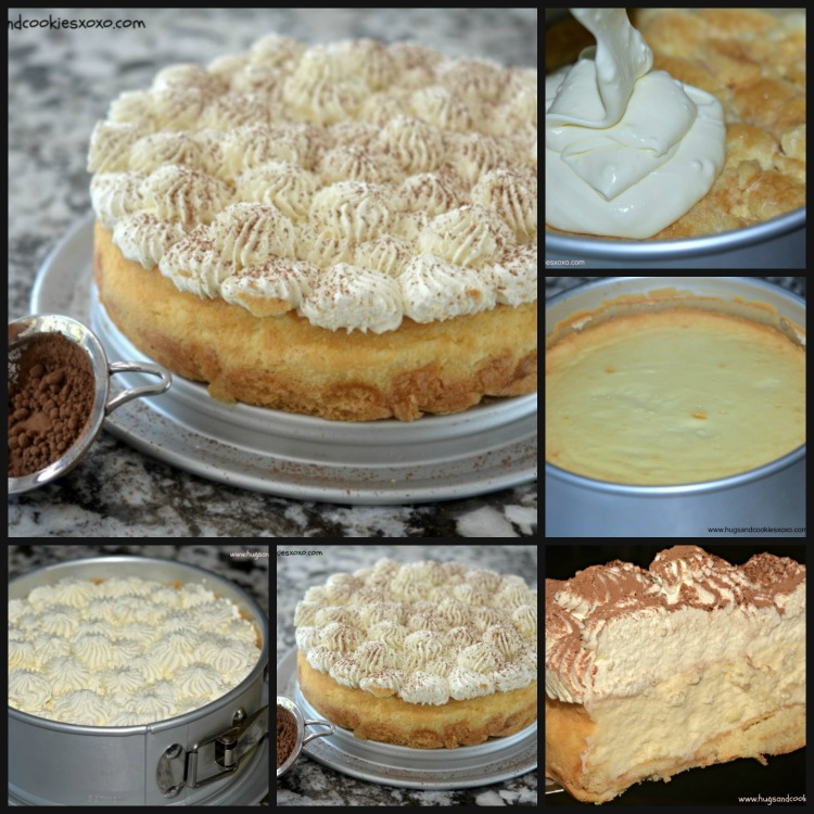 TIRAMISU CHEESECAKE STEPS