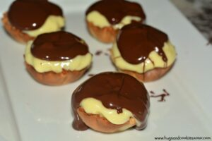 Boston Cream Pie Tarts