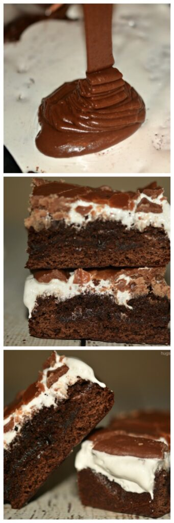 marshmallow brownies fudgy