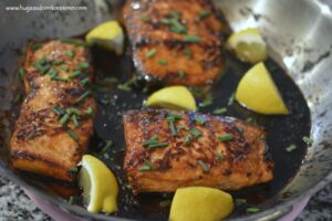 Browned Butter Honey Salmon