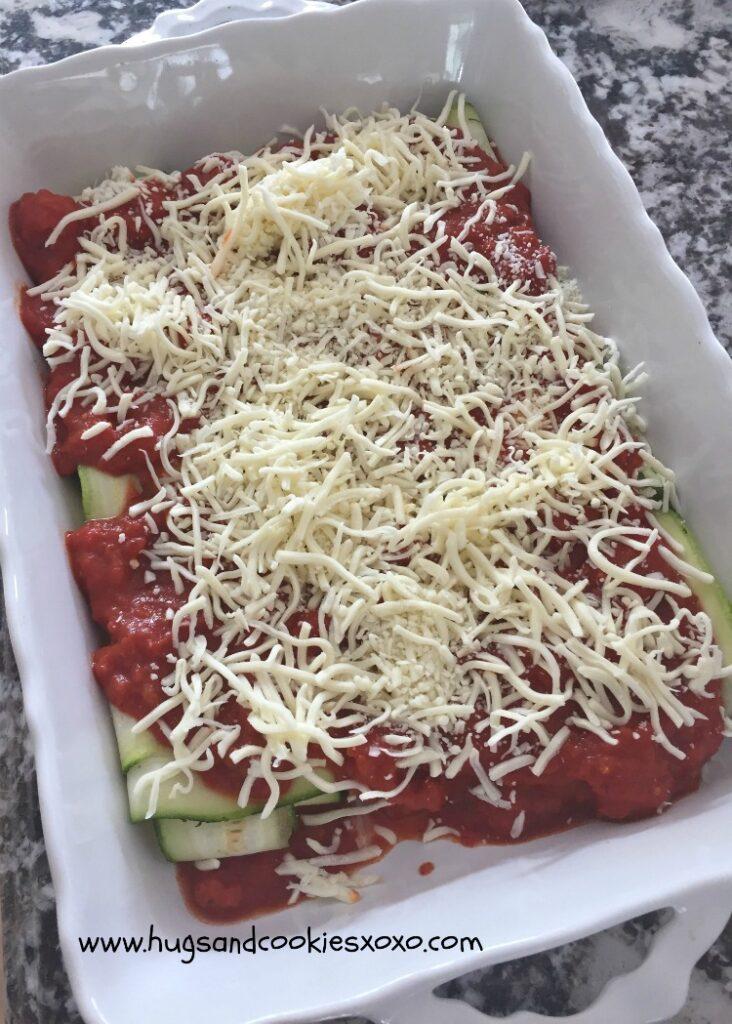 zucchini oven ready