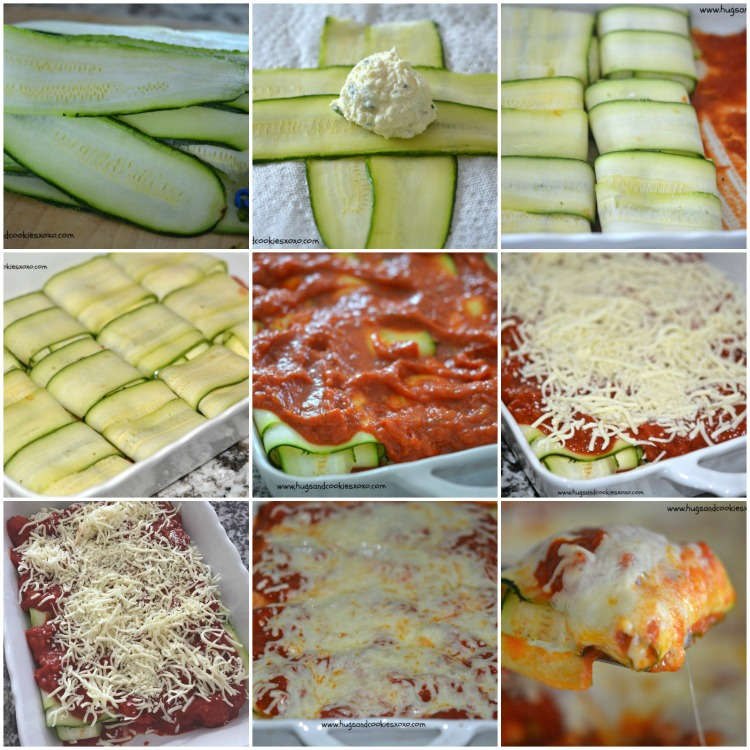 zucchini ravioli step by step
