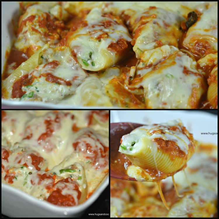 stuffed-shells-with-sausage-filling