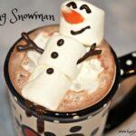 Melting Snowman Hot Chocolate