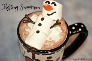 Melting Snowman Hot Chocolate