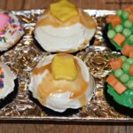 Thanksgiving Tv Dinner Cupcakes