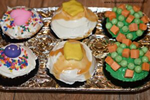 Thanksgiving Tv Dinner Cupcakes