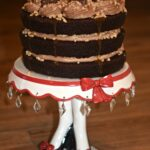 Chocolate Toffee Layer Cake