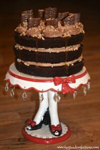 Chocolate Toffee Layer Cake