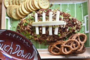 Loaded Cheese Football