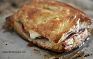 Sopressata and Cheese Puff Pastry