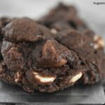 Triple Chocolate Fudgy Cookies