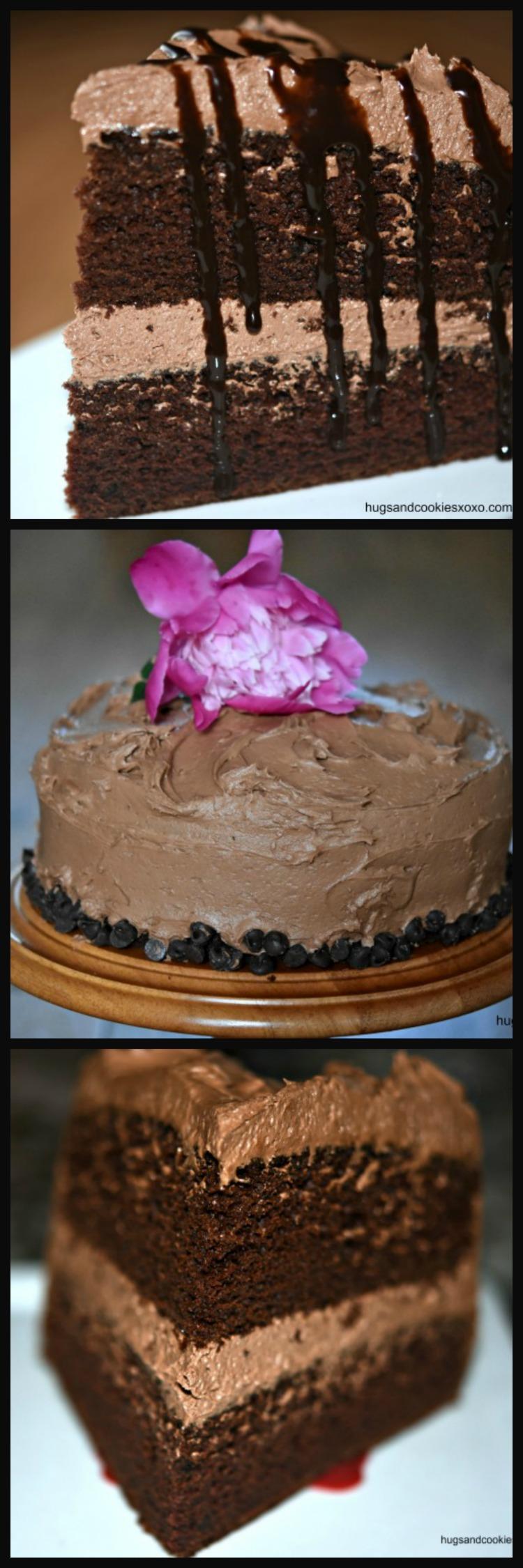 Chocolate Mayonnaise Cake - Hugs and Cookies XOXO