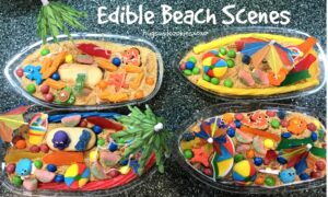 Edible Beach Scenes