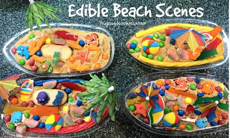 Edible Beach Scenes