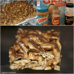 No-Bake Caramel Peanut Butter Bars