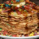 Fruity Pebble Pancakes