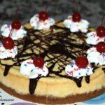 Hot Fudge Sundae Cheesecake