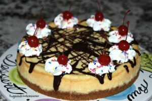 Hot Fudge Sundae Cheesecake
