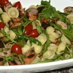 Orecchiette with Chicken Sausage and Arugula