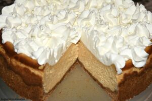 Classic Pumpkin Cheesecake
