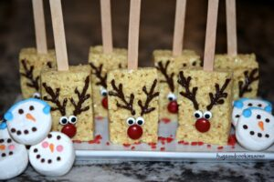 Rudolph Krispy Treats