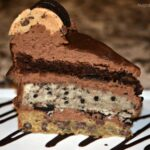 Brookie Cookie Triple Layer Cake
