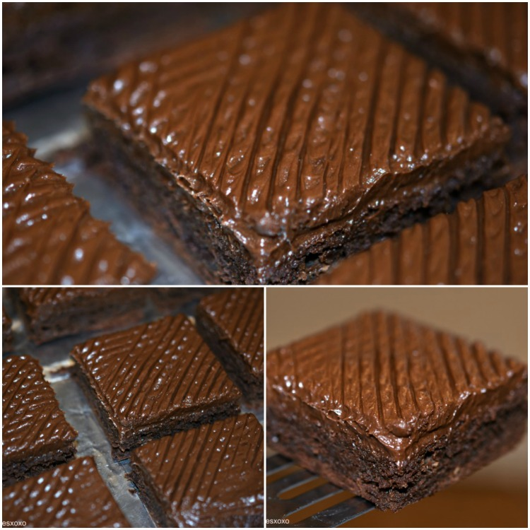 Sinful Frosted Brownies