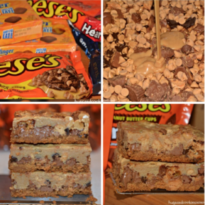 Nutter Butter Candy Cookie Bars