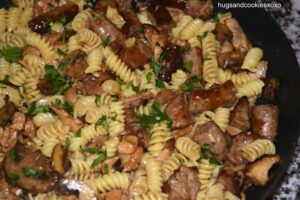 Rotini with Chicken and Sausage