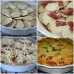 Scalloped Potatoes with Prosciutto