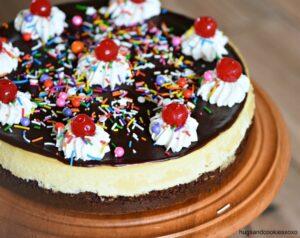 Brownie Sundae Cheesecake