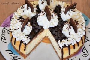 Hershey Sundae Cheesecake