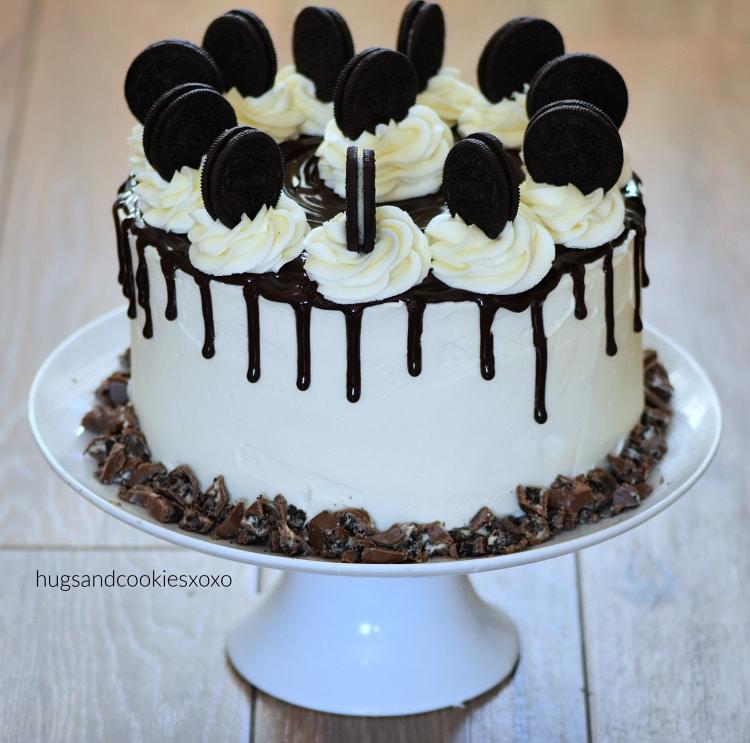 Triple Layer Oreo Cake