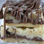 Nutella Butter Bars