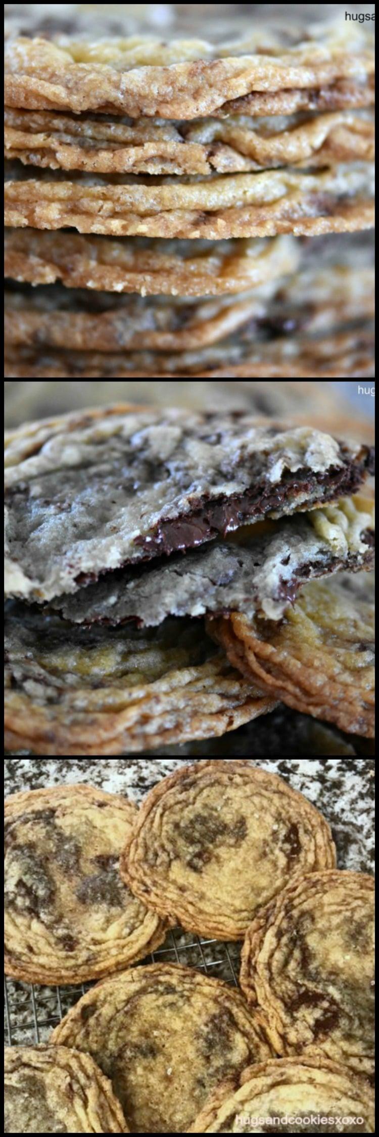 Pan Banging Chocolate Chunk Sea Salt Cookies