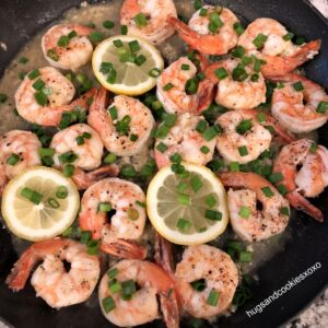 Buttery Garlic Lemon Shrimp
