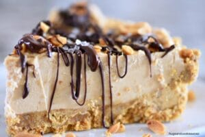 Peanut Butter Chocolate Mud Pie