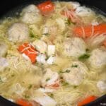 Mom's Matzoh Ball Soup