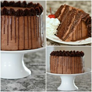 Death By Chocolate Fudge Layer Cake