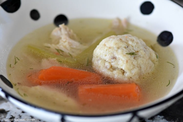Mom's Matzoh Ball Soup