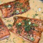 Creamy Parmesan Salmon