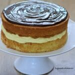 Boston Cream Pie Cake