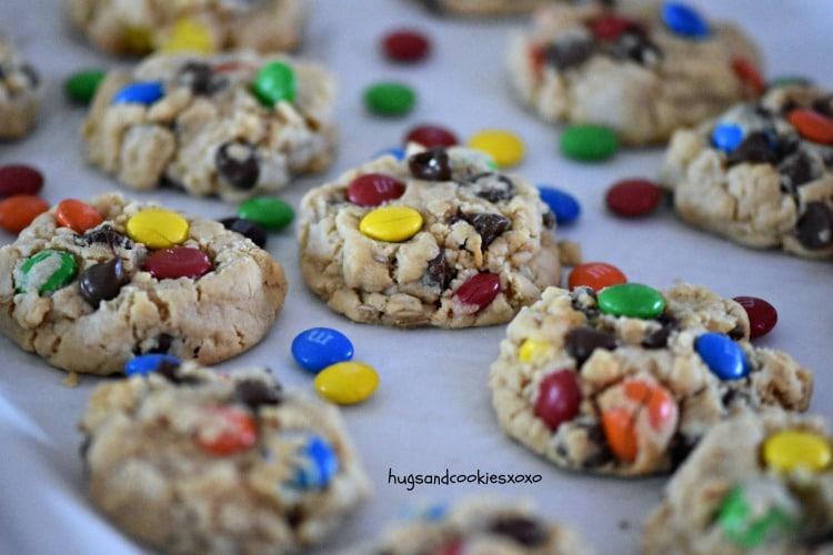 Loaded Monster Cookies