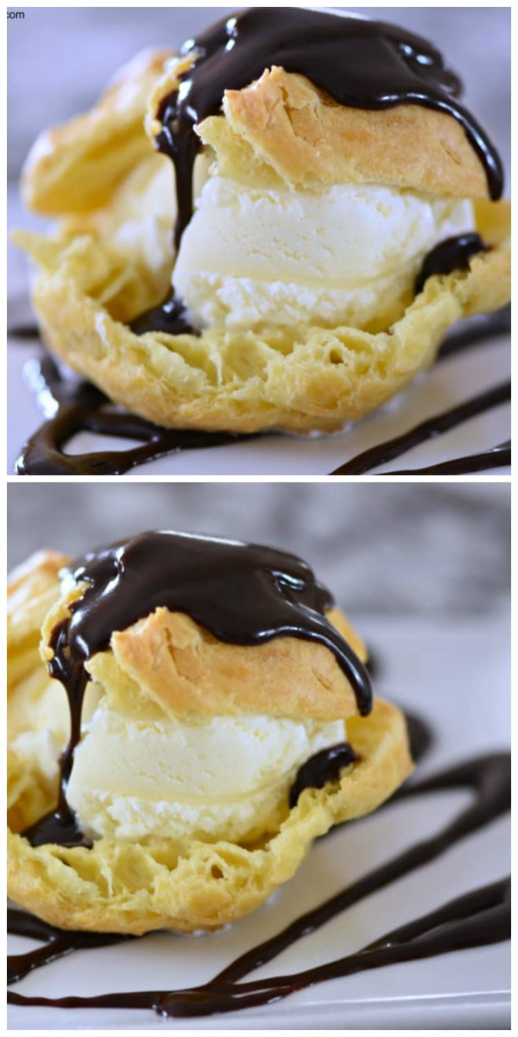 Ice Cream Profiteroles