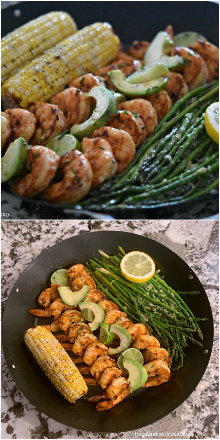 Grilled Chipotle Lime Shrimp