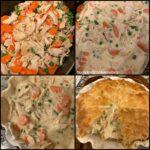 Chicken Pot Pie with Buttermilk Crust
